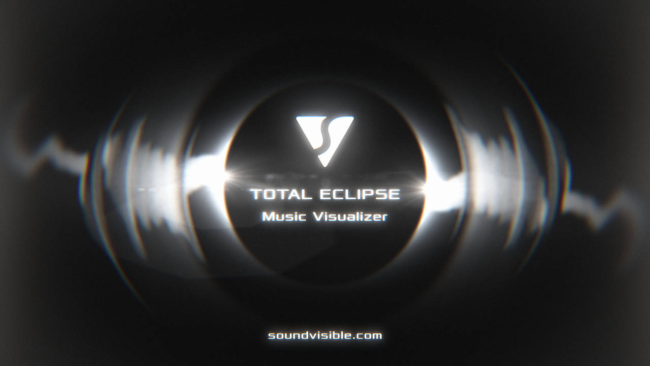 Total Eclipse Music Visualizer Template