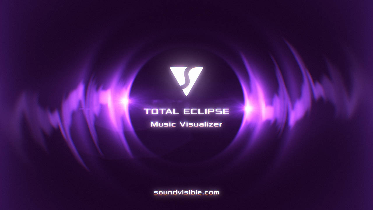 Total Eclipse Music Visualizer - Color Preset 02