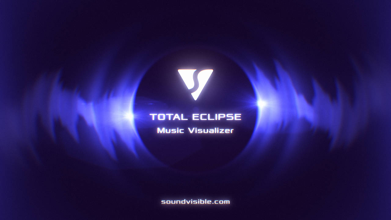 free eclipse music visualizer after effects template