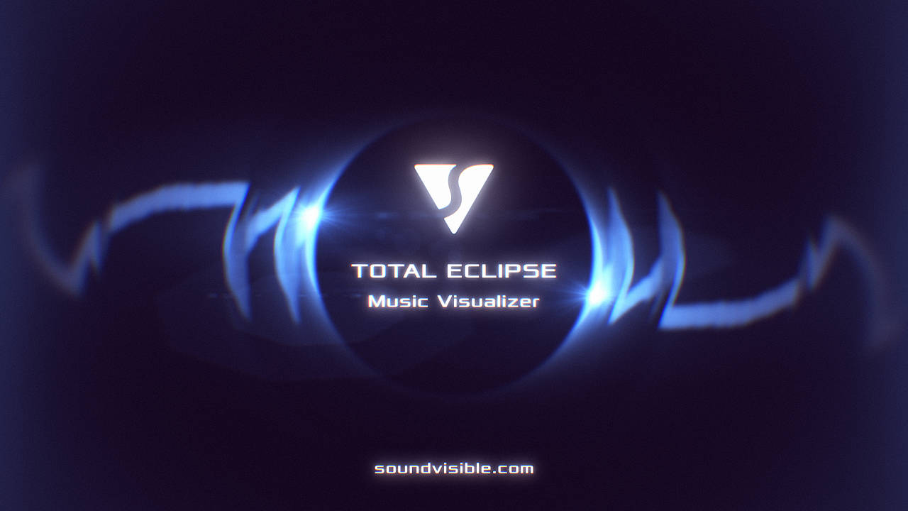 Total Eclipse Music Visualizer - Color Preset 04