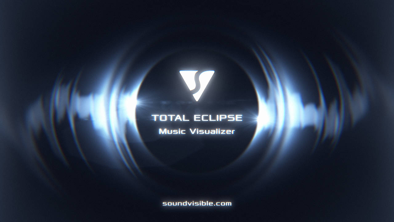 Total Eclipse Music Visualizer - Color Preset 05