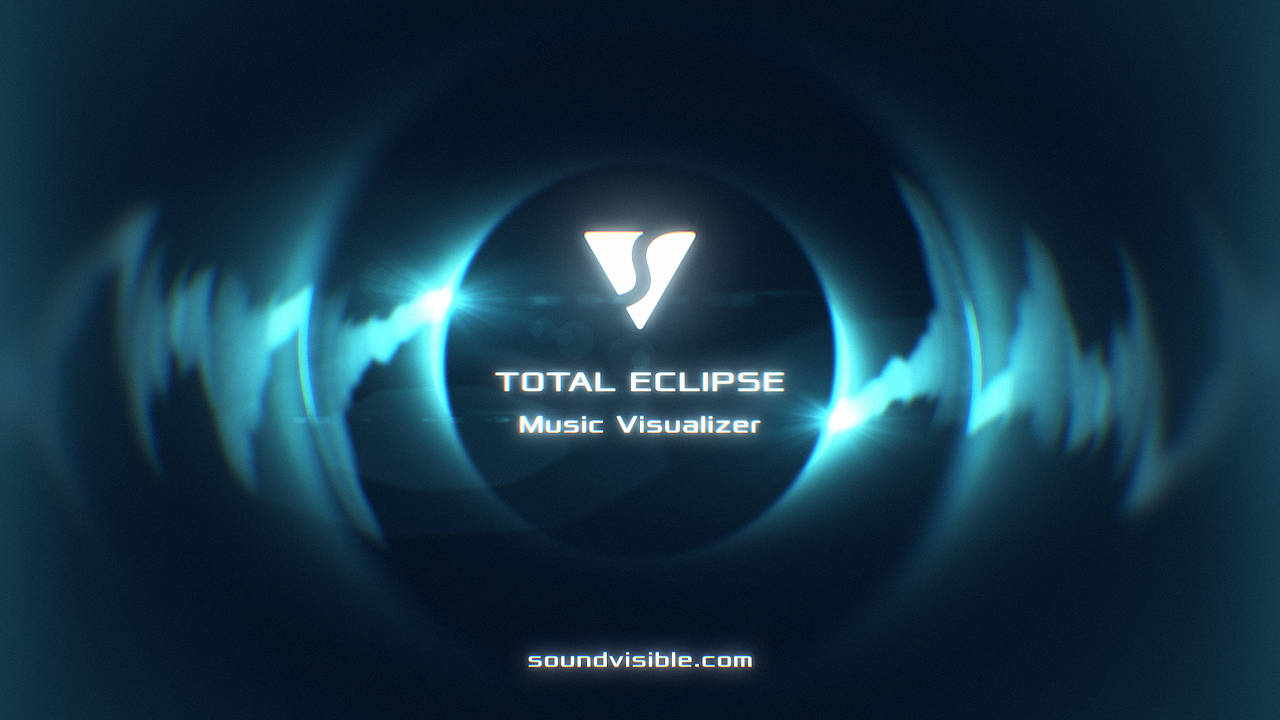 Total Eclipse Music Visualizer - Color Preset 06