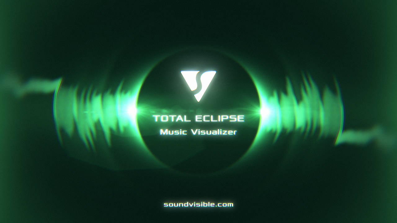 Total Eclipse Music Visualizer - Color Preset 07