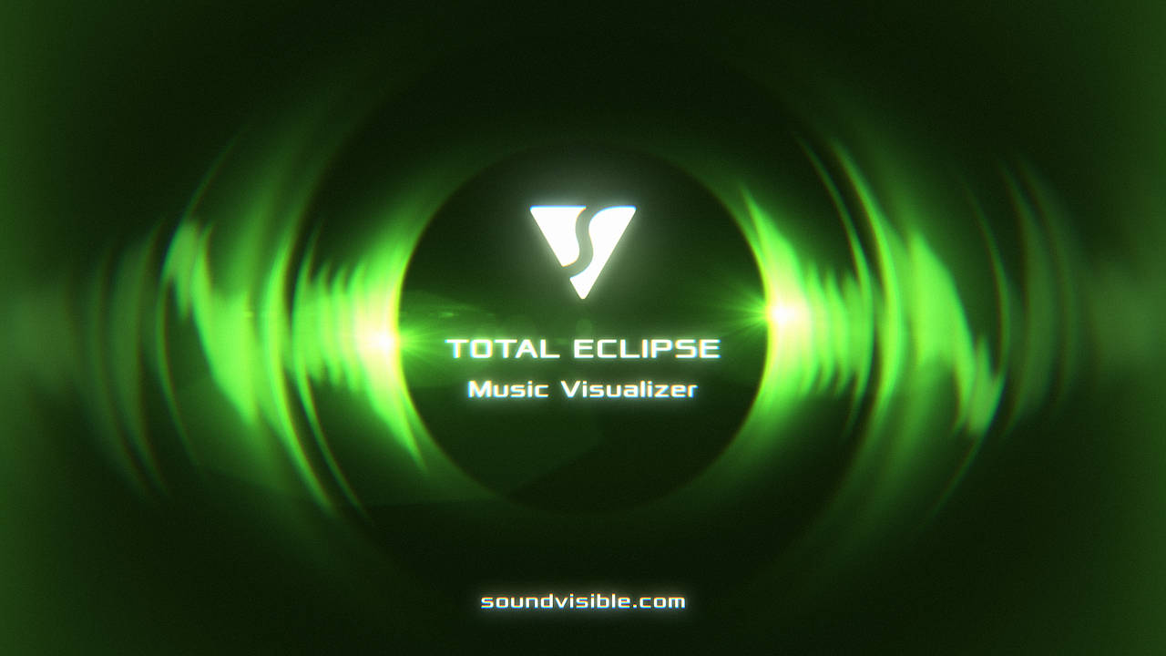 Total Eclipse Music Visualizer - Color Preset 08
