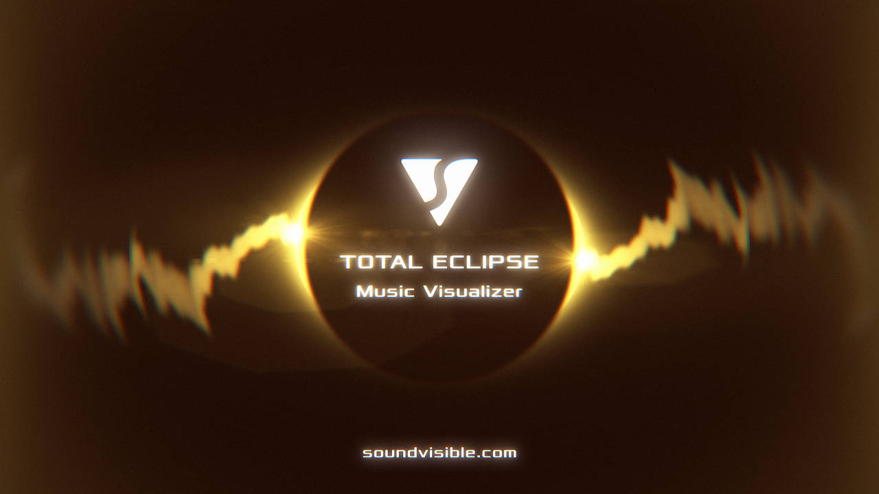 Total Eclipse Music Visualizer - Color Preset 09