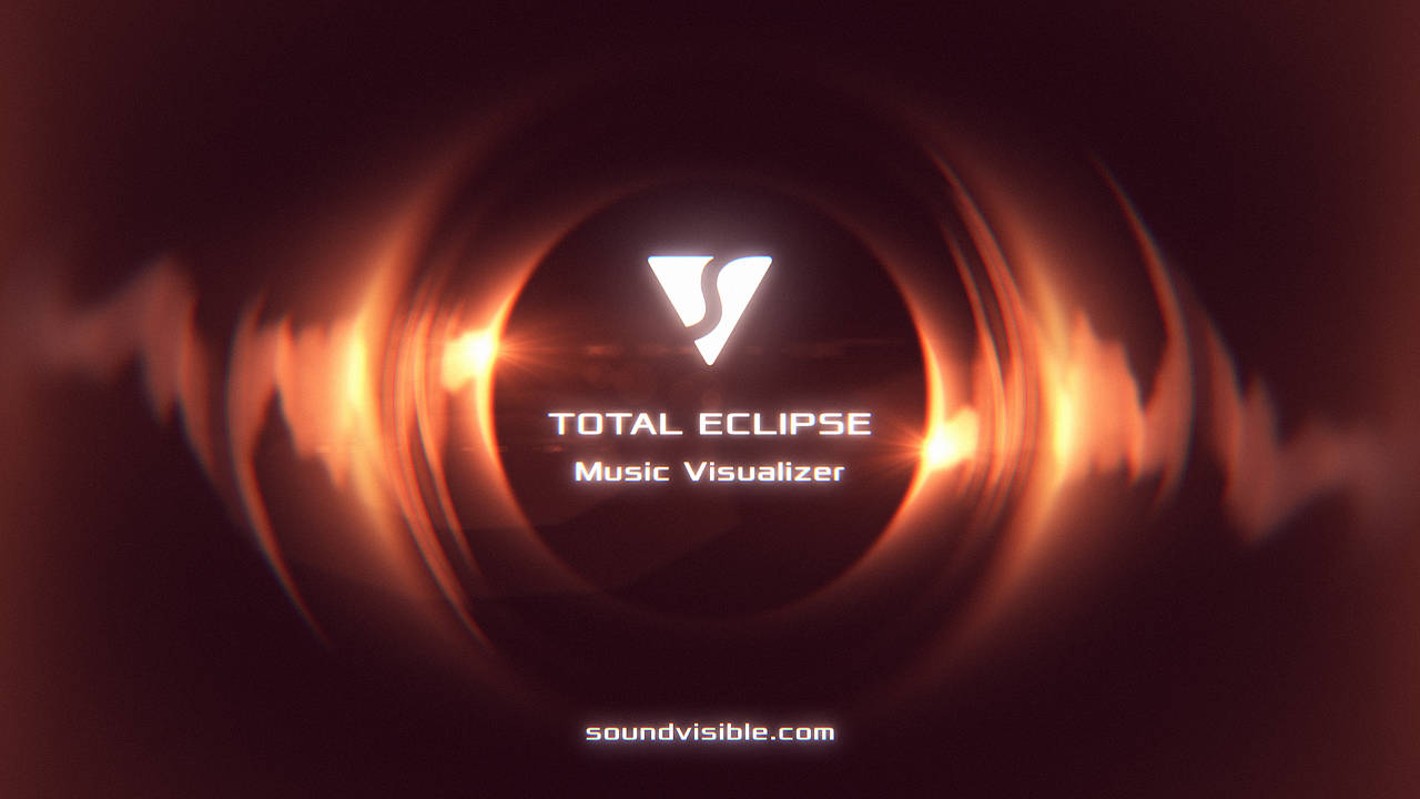 Total Eclipse Music Visualizer - Color Preset 10