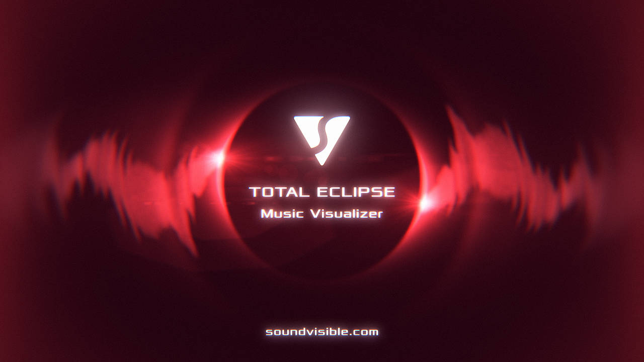 Total Eclipse Music Visualizer - Color Preset 11