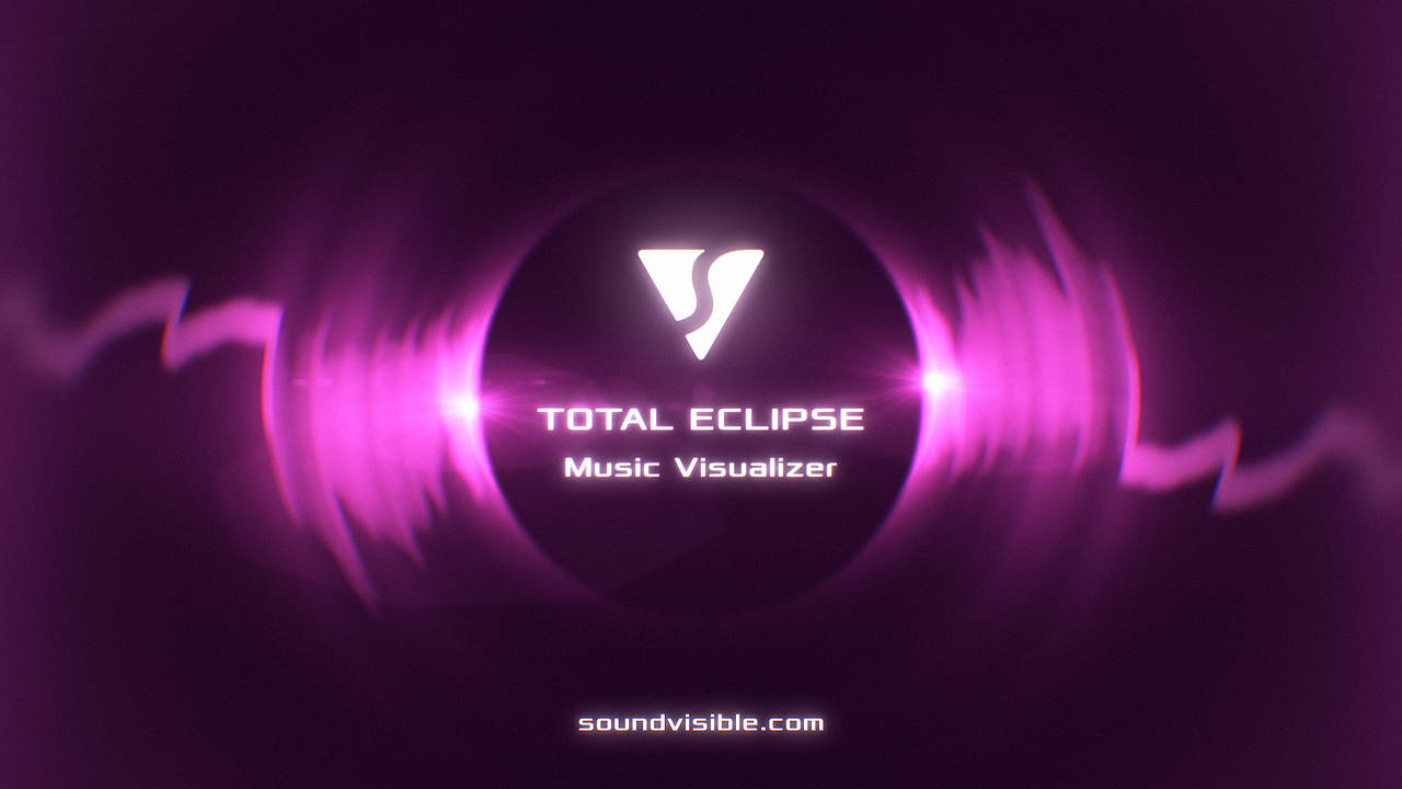 Total Eclipse Music Visualizer - Color Preset 12