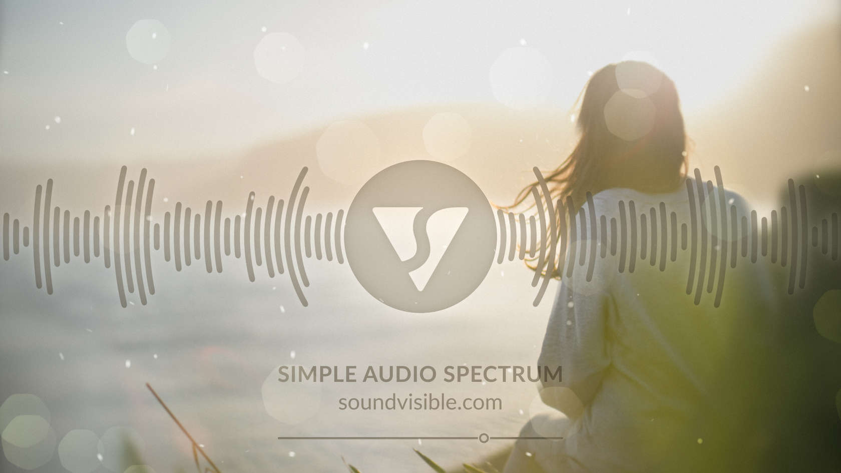 Simple Audio Spectrum Music Visualizer - Style Preview 05