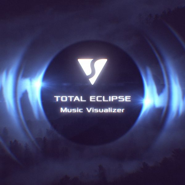 Total Eclipse Audio React Spectrum Music Visualizer After Effects Template - Thumb Image 01
