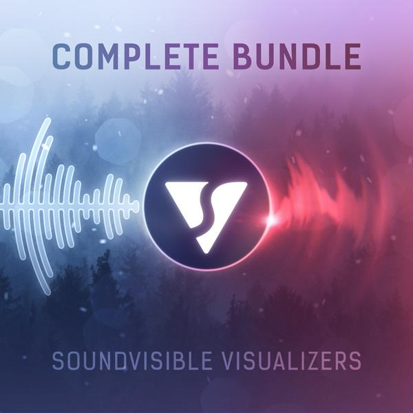 SoundVisible Music Visualizer After Effects Templates Complete Bundle